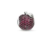 "Bead ""Roter Apfel"", Sterlingsilber, Karma Beads"