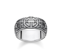 Ring, Sterlingsilber geschwärzt, Glam & Soul