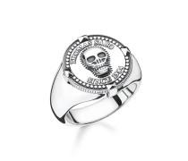 Ring, Sterlingsilber geschwärzt, Rebel at heart
