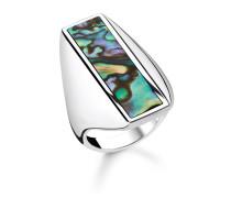 """Ring """"Abalone Perlmutt"""", 925 Sterlingsilber/ Abalone Perlmutt, Glam & Soul"""