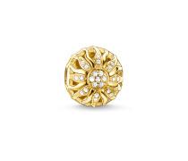 Bead Sonnenschein, Sterlingsilber Gelbgold vergoldet, Karma Beads