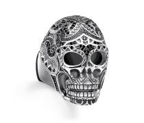"""Ring """"Maori Totenkopf"""", Sterlingsilber, Rebel at heart"""