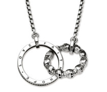 Collier, Sterlingsilber geschwärzt, Rebel at heart