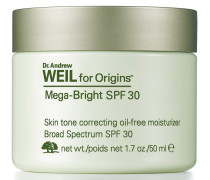 Dr. Andrew Weil For Origins™ Mega-Bright Skin Tone Correcting Oil-free Moisturizer SPF 30 - 50 ml