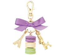 Key Ring M Cassis Violet