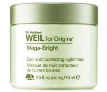 Dr. Weil Mega Bright Dark Spot Correcting Night Mask - 75 ml