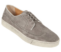 Sneaker, Brogue in Grau für Herren