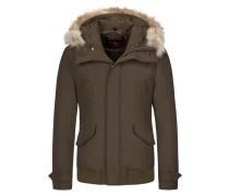 Daunenjacke, Polar Jacket HC in Gruen für Herren