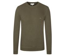 Leichtes Sweatshirt in Oliv für Herren