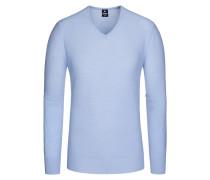 Pullover, Reiskorn in Blau für Herren
