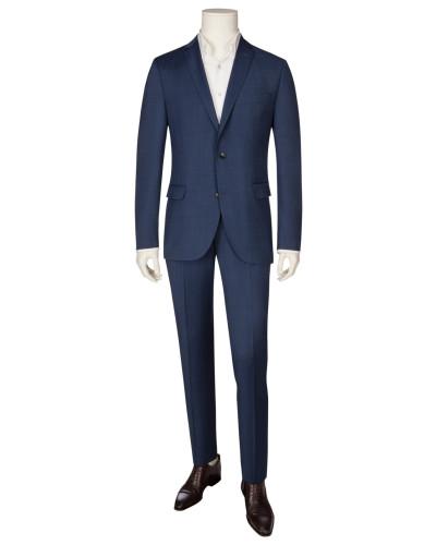 Eleganter Businessanzug, Regular Fit in Blau für Herren