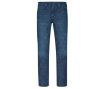 Light-Denim-Jeans, Regular Fit in Blau für Herren