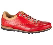 Hochwertiger Sneaker in Rot für Herren