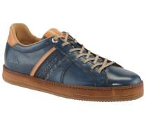 Hochwertiger Leder-Sneaker in Blau