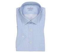 Kurzarmhemd, Tailor Fit in Hellblau für Herren