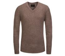 Pullover, 100% Kaschmir in Braun für Herren