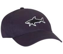 Sportliche Cap, mit Big Shark Logo in Marine