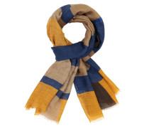 Schal mit modischem Muster in Gelb