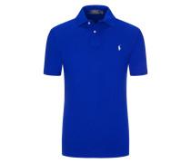 Poloshirt, Custom Slim Fit in Navy