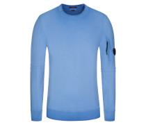 Sweatshirt, Rundhalsausschnitt in Royal für Herren