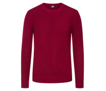 Pullover aus 100% Kaschmir in Rot