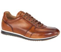 Ledersneaker in Cognac