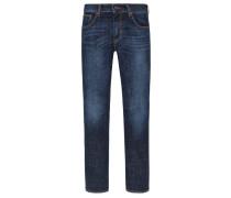 Jeans mit Stretchanteil, Slim Fit in Marine