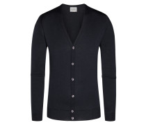Strickcardigan, Petworth, Regular Fit in Schwarz für Herren