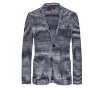 Strickblazer, Regular Fit in Marine für Herren