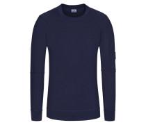 Pullover, Slim Fit in Blau für Herren