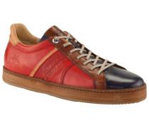 Hochwertiger Leder-Sneaker in Marine für Herren