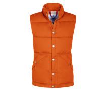 Freizeitweste, Powder Vest in Orange für Herren