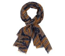 Schal mit Paisley-Muster in Orange