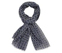 Schal mit modischem Muster in Grau