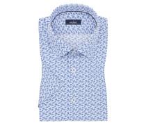 Kurzarmhemd, Tet, Tailor Fit in Weiss für Herren