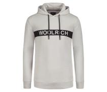 Sweatshirt in modischer Struktur in Grau für Herren