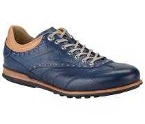 Hochwertiger Sneaker in Royal für Herren