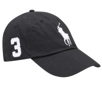 Cap, Big Pony in Schwarz für Herren