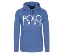 Sweatshirt mit Frontprint in Blau für Herren