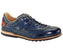 Sneaker, Cuero in Royal für Herren