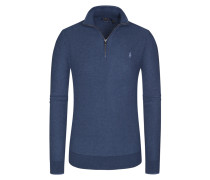 Pullover, Troyer, Pima Cotton in Blau für Herren