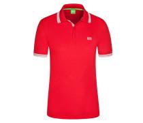 Poloshirt, Paddy, Regular Fit in Rot für Herren