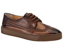 Sneaker, Full-Brogue in Braun für Herren
