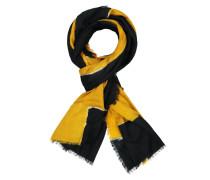 Schal mit Muster in Gelb
