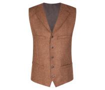 Modische Tweed-Weste in Hellbraun für Herren