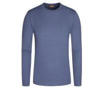 Pullover, O-Neck in Blau für Herren