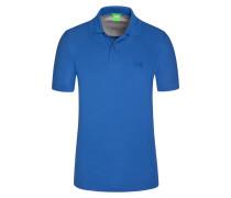 Poloshirt, Firenze, Regular Fit in Blau für Herren