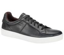 Sneaker mit Flechtdetail in Schwarz für Herren