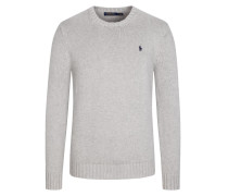 Pullover in Strick-Optik in Grau