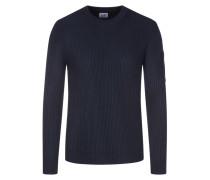 Pullover im Wollmix in Marine für Herren